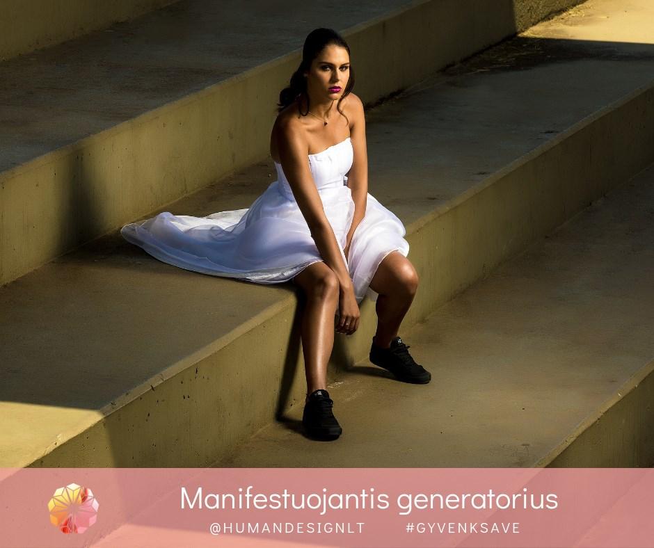 Human Design Manifestuojantys Generatoriai